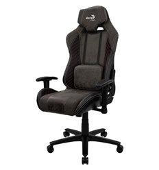 Кресло AeroCool BARON Iron Black, геймерское, ткань/экокожа