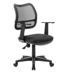 Кресло BRABIX Drive MG-350 для оператора, сетка/ткань, черное