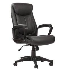 Кресло BRABIX Enter EX-511 для руководителя, экокожа, черное