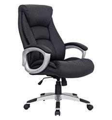 Кресло BRABIX Grand EX-500 для руководителя, натуральная кожа, черное