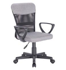 Кресло BRABIX Jet MG-315 для оператора, сетка/ткань, черное/серое