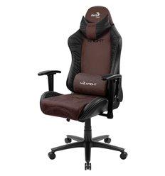 Кресло AeroCool KNIGHT Burgundy Red, геймерское, ткань/экокожа