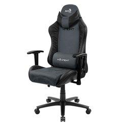 Кресло AeroCool KNIGHT Steel Blue, геймерское, ткань/экокожа