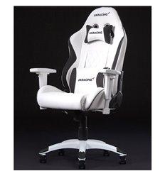 Кресло AKRacing CALIFORNIA LAGUNA, геймерское, экокожа, цвет белый/черный