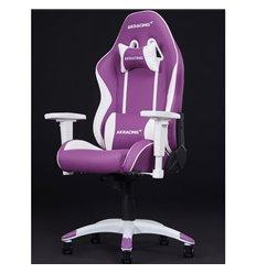 Кресло AKRacing CALIFORNIA NAPA, геймерское, экокожа, цвет фиолетовый/белый