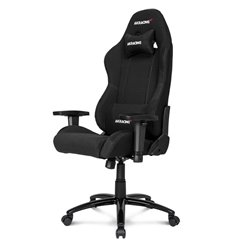 Кресло AKRacing K7012 Black, геймерское, ткань, цвет черный