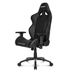 Кресло AKRacing OVERTURE Black, геймерское, экокожа, цвет черный