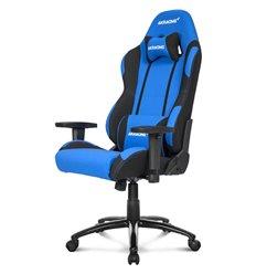 Кресло AKRacing PRIME Black/Blue, геймерское, ткань, цвет черный/синий