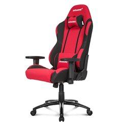 Кресло AKRacing PRIME Black/Red, геймерское, ткань, цвет черный/красный