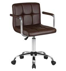 Кресло LM-9400/brown для оператора, экокожа, цвет коричневый