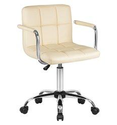 Кресло LM-9400/cream для оператора, экокожа, цвет кремовый