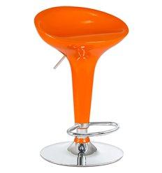 Стул барный LM-1004 Bomba оранжевый, пластик