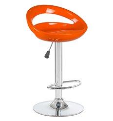 Стул барный LM-1010 Disco оранжевый, пластик