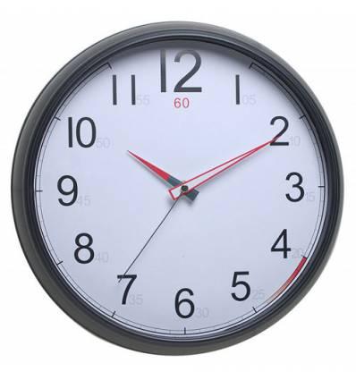 Часы Бюрократ WALLC-R08P/BLACK настенные,  аналоговые