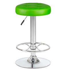 Стул барный LM-5008 зеленый, искусственная кожа
