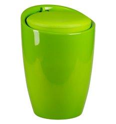 Табурет LM-1100 зеленый, пластик, с местом для хранения