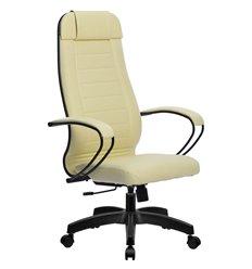 Кресло Метта Комплект 28 Pilot бежевый для руководителя, NewLeather