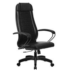 Кресло Метта Комплект 28 Pilot черный для руководителя, NewLeather