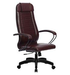 Кресло Метта Комплект 28 Pilot бордовый для руководителя, NewLeather