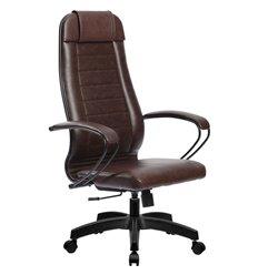 Кресло Метта Комплект 28 Pilot коричневый для руководителя, NewLeather