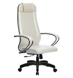 Кресло Метта Комплект 28 Pilot белый лебедь для руководителя, NewLeather