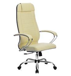 Кресло Метта Комплект 29 Pilot бежевый для руководителя, NewLeather