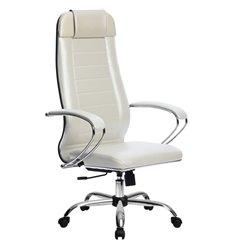 Кресло Метта Комплект 29 Pilot белый лебедь для руководителя, NewLeather