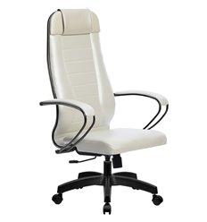 Кресло Метта Комплект 30 Pilot белый лебедь для руководителя, NewLeather