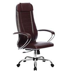Кресло Метта Комплект 31 Pilot бордовый для руководителя, NewLeather