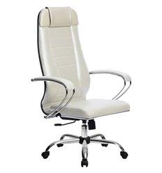 Кресло Метта Комплект 31 Pilot белый лебедь для руководителя, NewLeather
