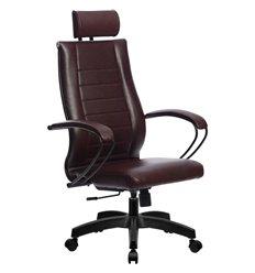 Кресло Метта Комплект 32 Pilot бордовый для руководителя, NewLeather