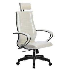Кресло Метта Комплект 32 Pilot белый лебедь для руководителя, NewLeather
