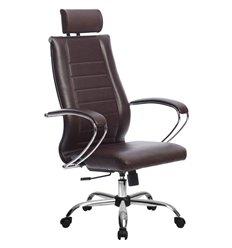 Кресло Метта Комплект 33 Pilot бордовый для руководителя, NewLeather