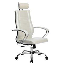 Кресло Метта Комплект 33 Pilot белый лебедь для руководителя, NewLeather