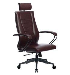 Кресло Метта Комплект 34 Pilot бордовый для руководителя, NewLeather
