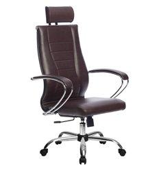 Кресло Метта Комплект 35 Pilot бордовый для руководителя, NewLeather