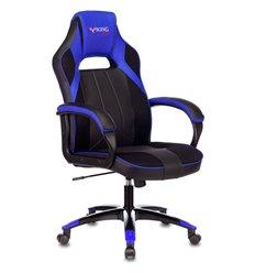 Кресло Бюрократ VIKING 2 AERO BLUE  игровое, экокожа/ткань, цвет черный/синий