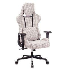 Кресло Бюрократ VIKING LOFT G игровое, ткань, цвет серый гусин.лапка