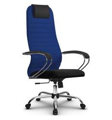 Кресло Метта SU-BK-10 синий для руководителя, ткань