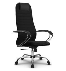 Кресло Метта SU-BK-10 черный для руководителя, ткань