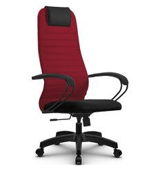 Кресло Метта SU-BP-10 красный для руководителя, ткань