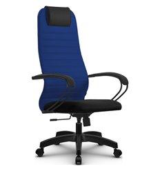 Кресло Метта SU-BP-10 синий для руководителя, ткань
