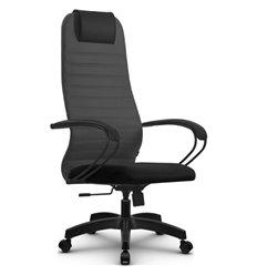 Кресло Метта SU-BP-10 темно-серый для руководителя, ткань