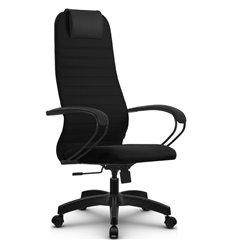 Кресло Метта SU-BP-10 черный для руководителя, ткань
