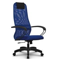 Кресло Метта SU-BP-8 синий для руководителя, сетка/ткань