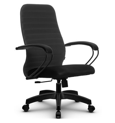 Кресло Метта SU-CP-10 темно-серый для руководителя, ткань