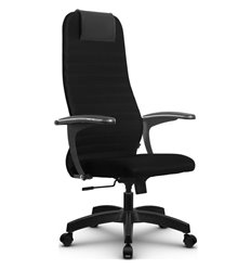 Кресло Метта SU-BM-10 черный для руководителя, ткань