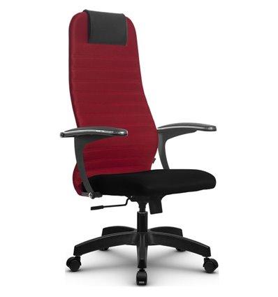 Кресло Метта SU-BM-10 красный для руководителя, ткань