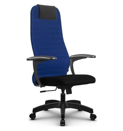 Кресло Метта SU-BM-10 синий для руководителя, ткань