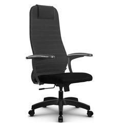 Кресло Метта SU-BM-10 темно-серый для руководителя, ткань